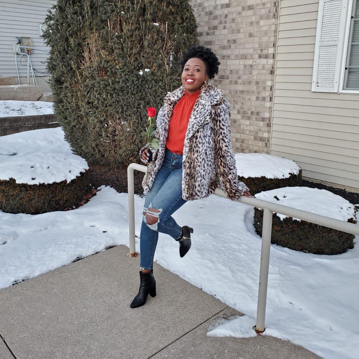 valentines day Mercy K rose flower