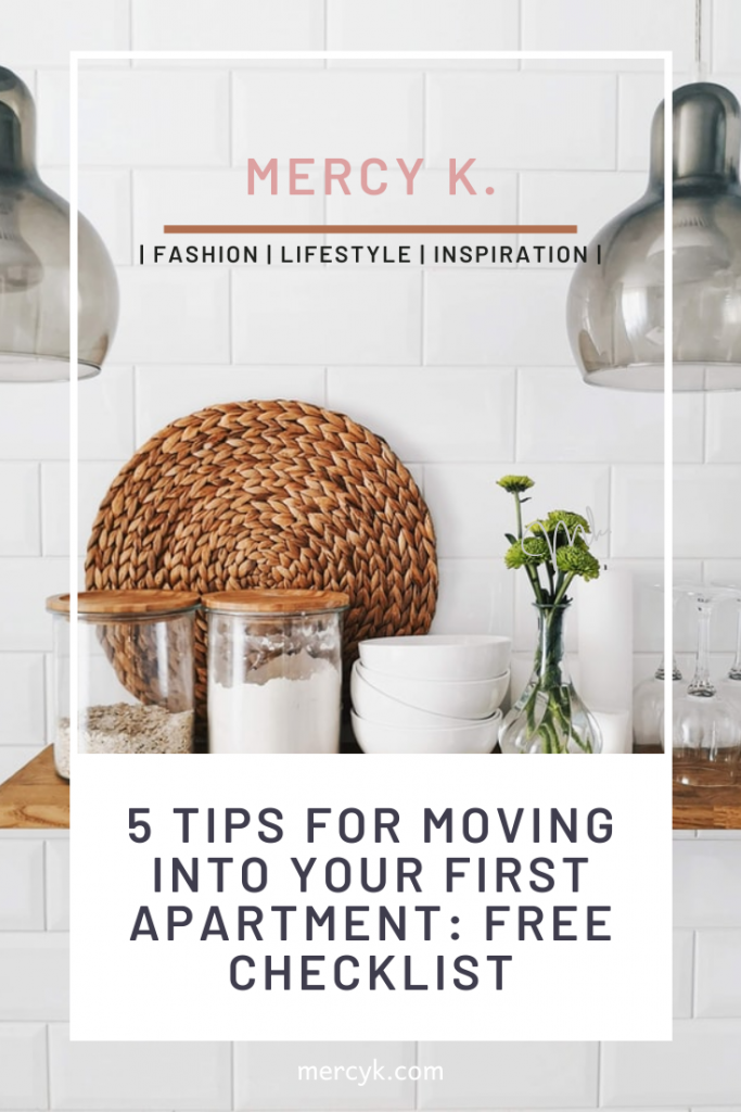 Mercy K. Blog Magazine about Apartment Moving Tips and Free Apartment Checklist