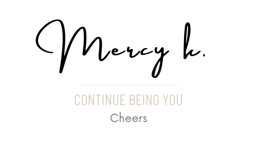 Mercy k. signature