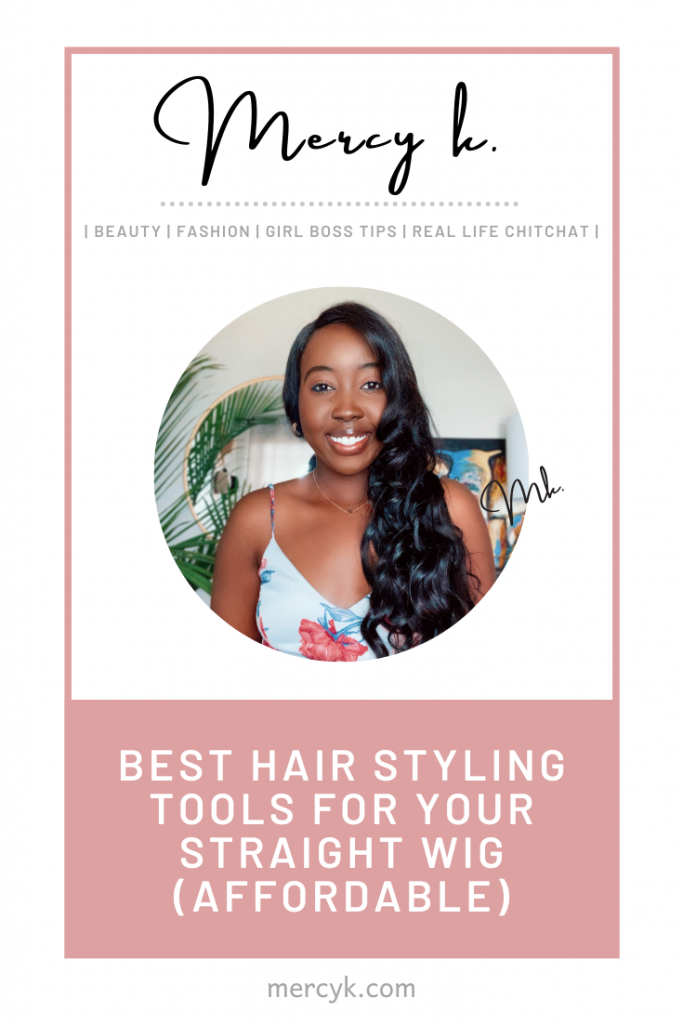 Pinterest Post Best Hair Styling Tools For Your Straight Wig (Affordable)
