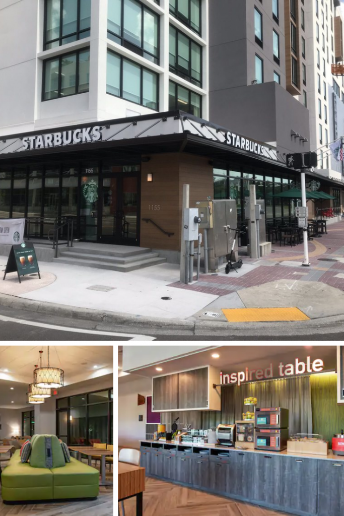 Home2 Suites by Hilton Tampa Downtown Channel District. - Free Breakfast and starbucks