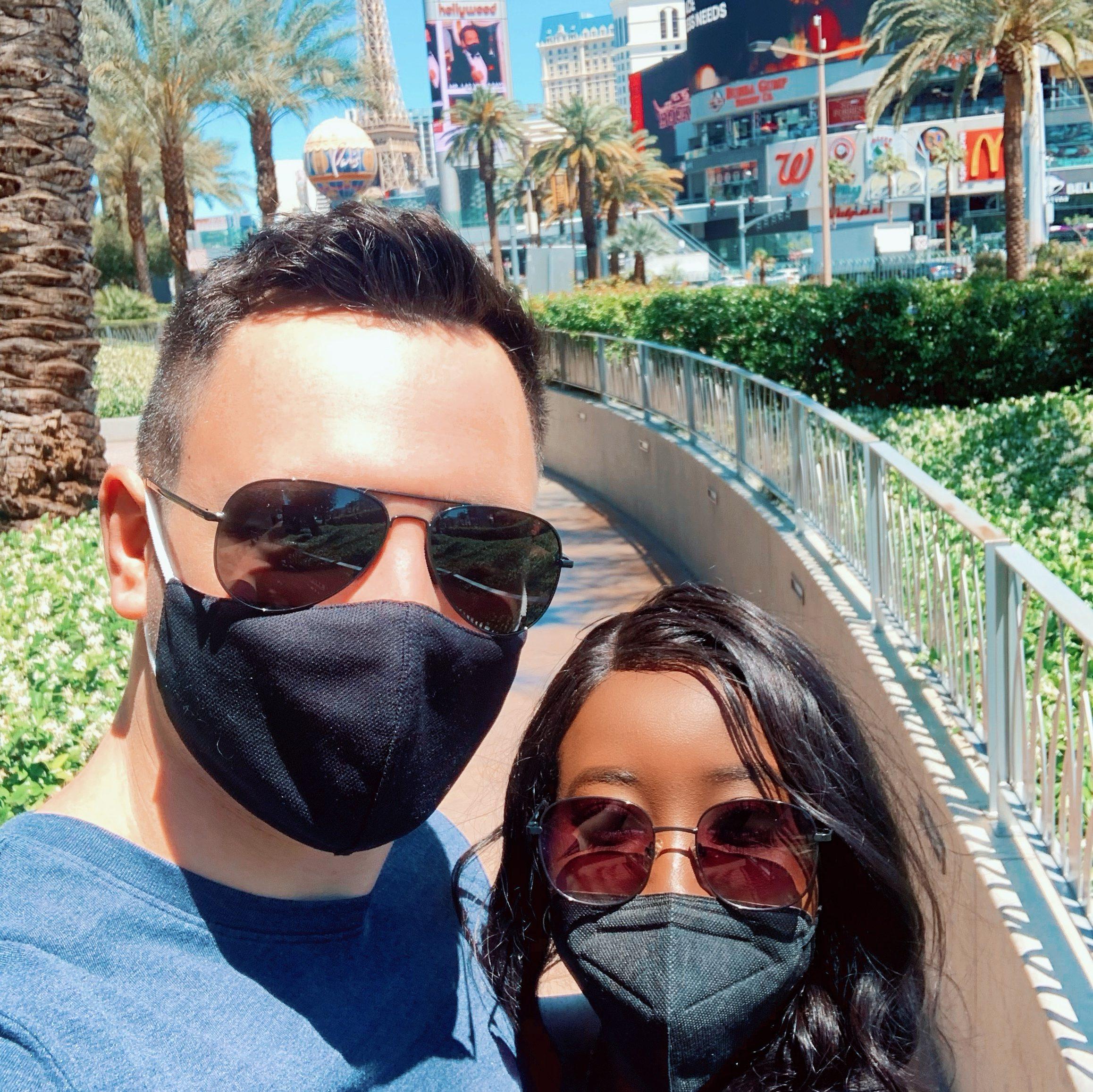 Beautiful Interracial couple in Las Vegas